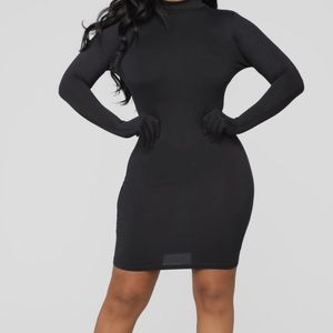 Fashionnova Black Dress